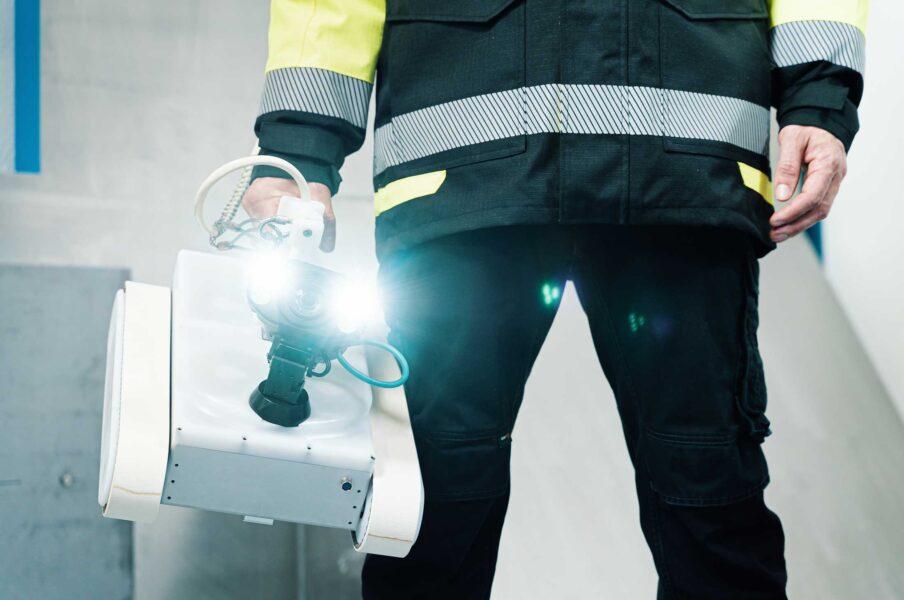 Robotic Non-Destructive Inspection Services